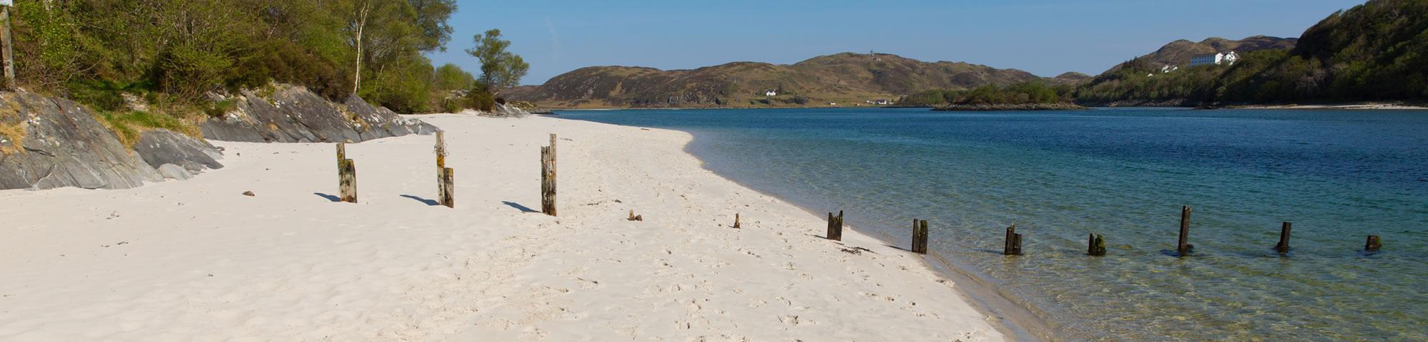 White sands at Morar