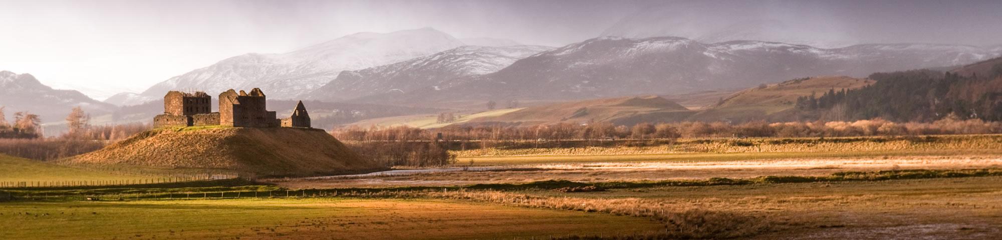 Strathspey in Scottish Highlands