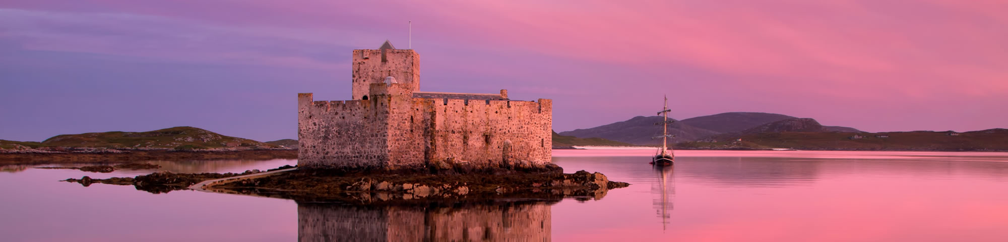 Kisimul Castle on Barra in the Outer Hebrides