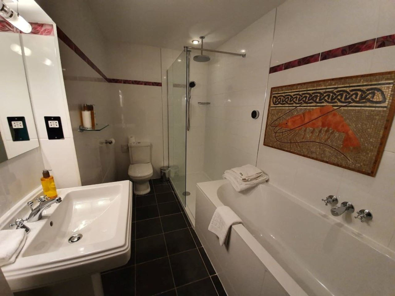 Scarrataing Bathroom