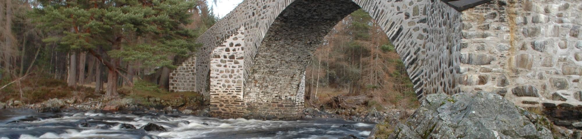 The Old Bridge of Dee, Invercauld, Braemar