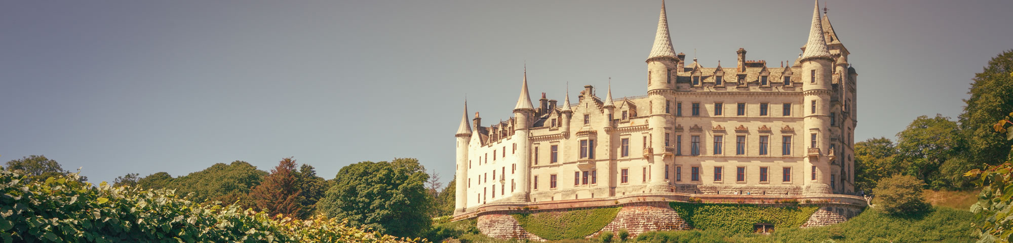 Dunrobin castle, northern Highlands