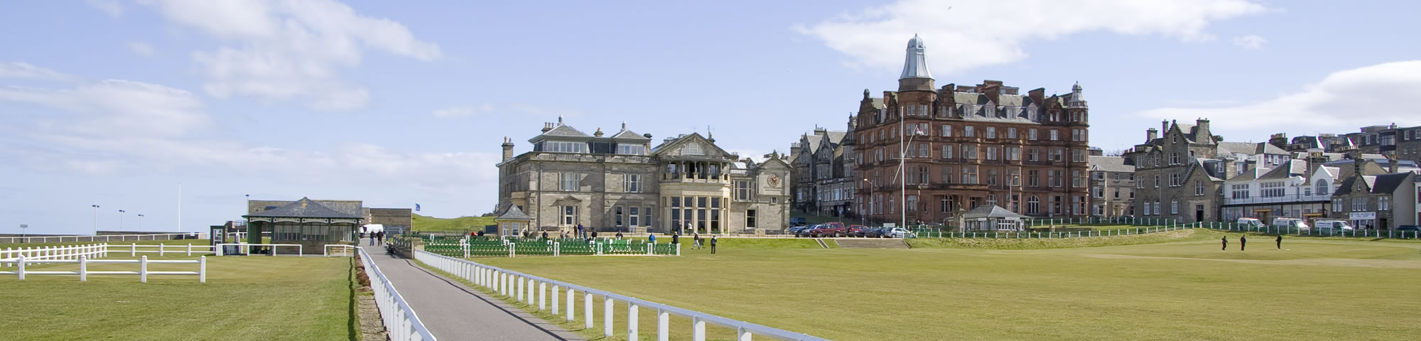 The Old Course Clubhouse, St Andrews