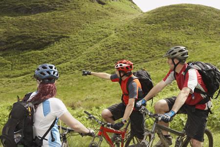 Activity Mountain biking