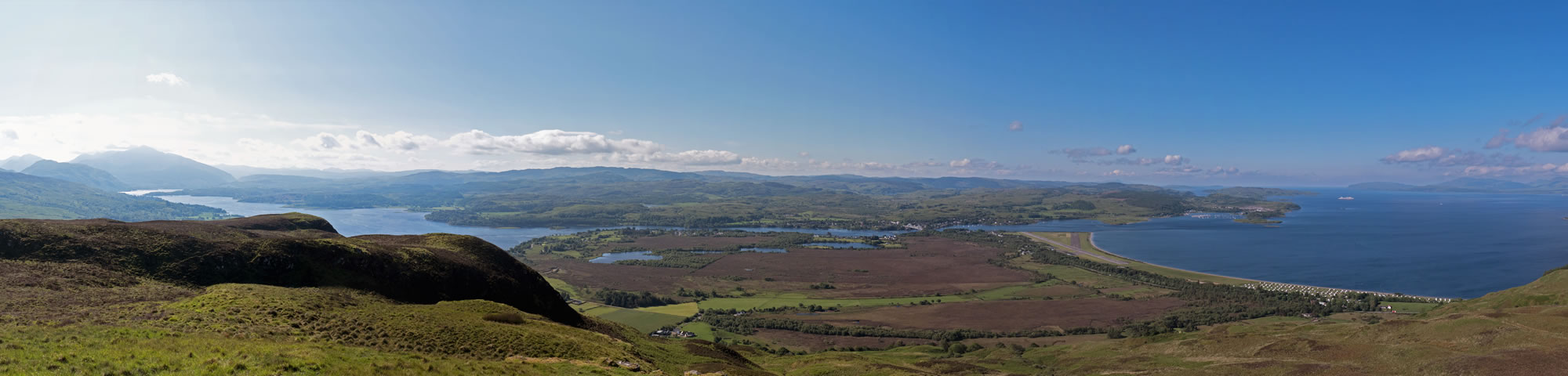 View from Beinn Lora, Benderloch