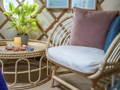 Relaxing Yurt experience