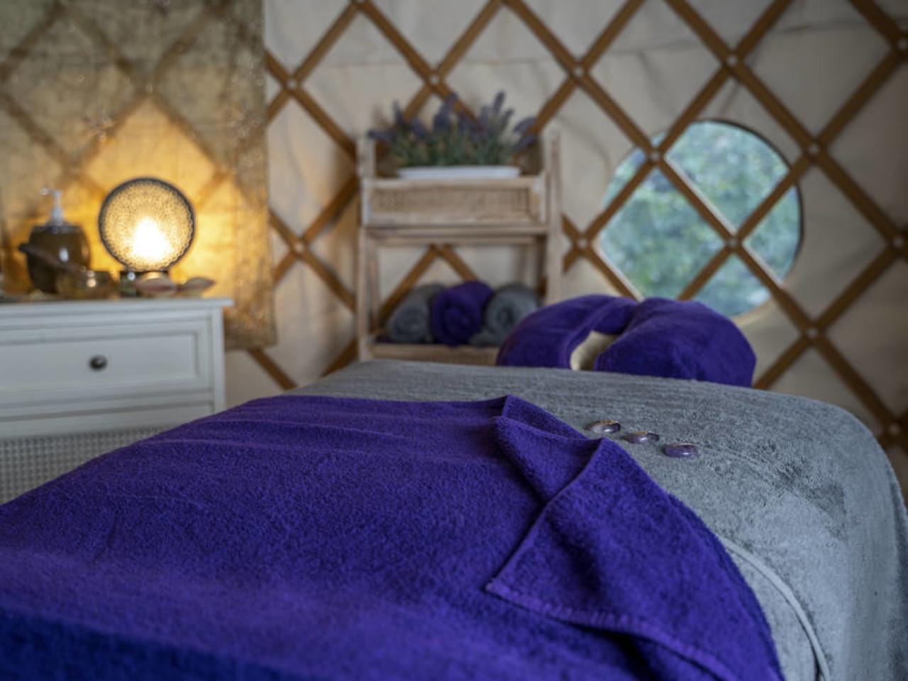 Yurt - massage therapy