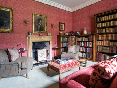 Stay at Abbotsford, Reading Room