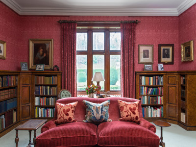 Stay at Abbotsford, Lockhart Library