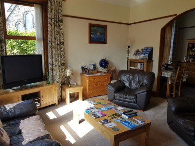 Guest lounge, seating for guests to catch up and have a chat, watch tv, play games or read a book