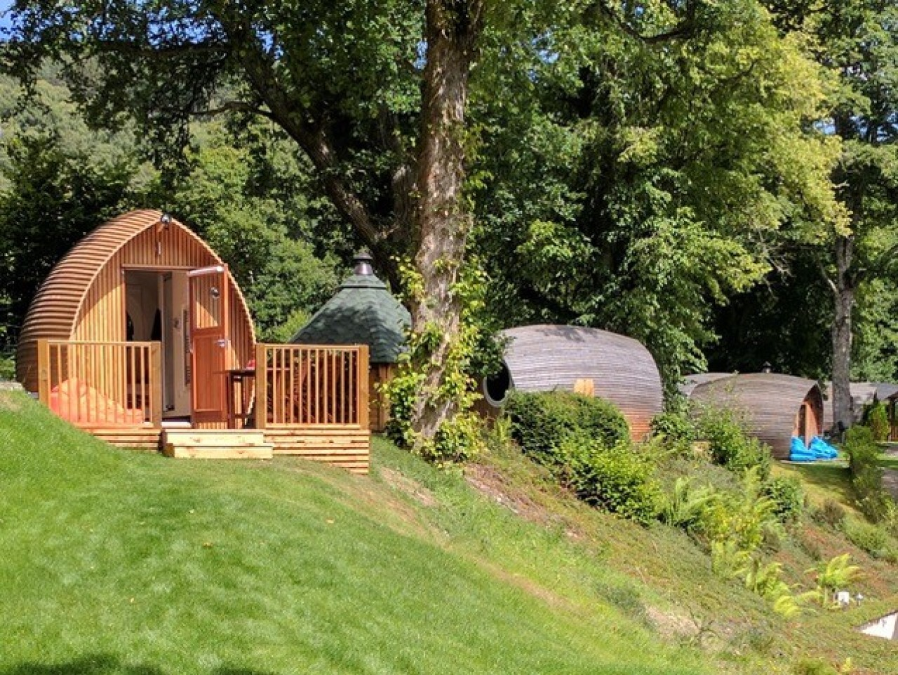 Peace and tranquility at Loch Ness Glamping
