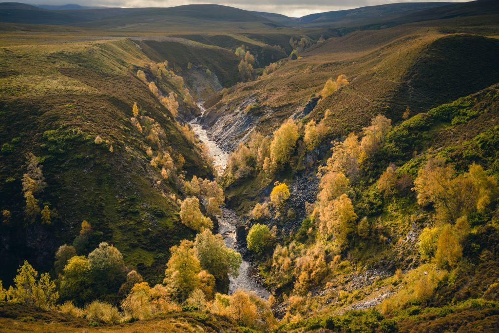 Activity Ailnack Gorge