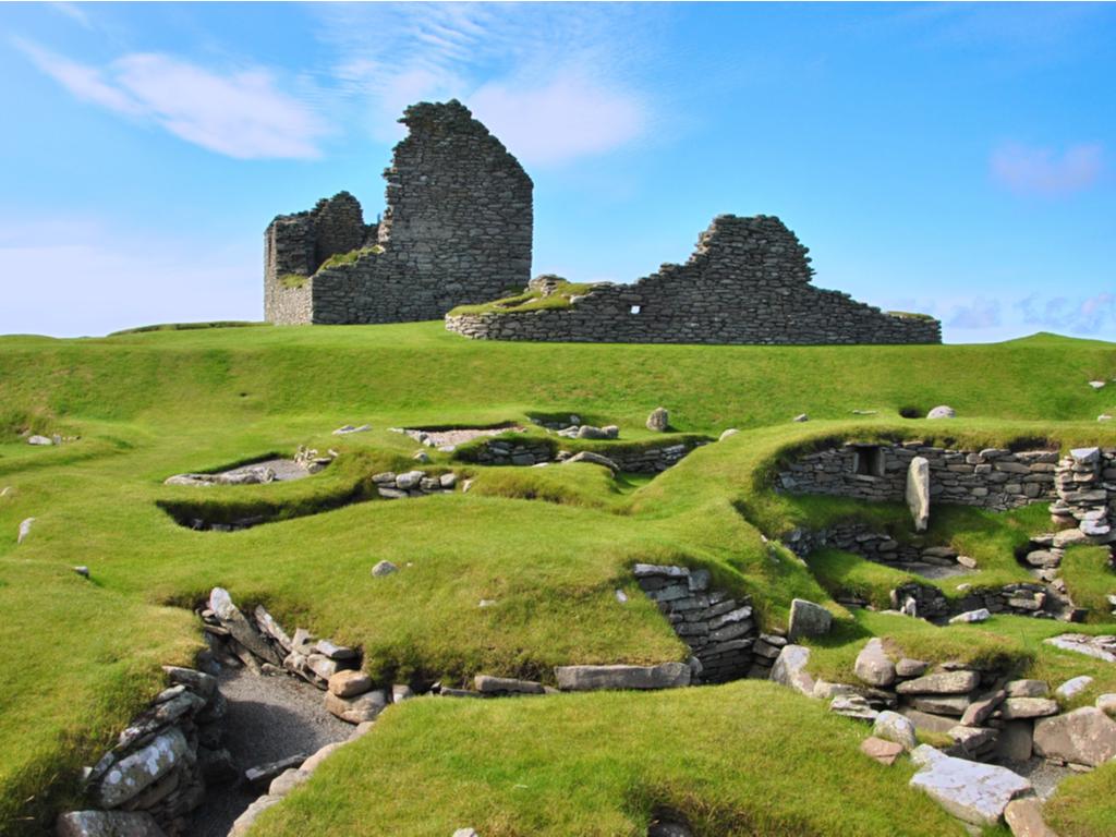 Activity Jarlshof Prehistoric And Norse Settlement