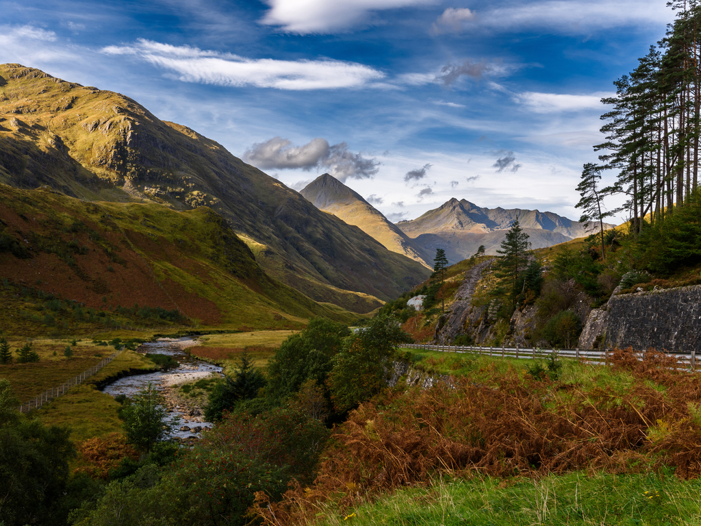 Activity Five Sisters of Kintail