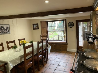 Large kitchen with Aga