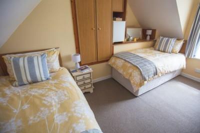 Hebridean- Twin Double bedroom