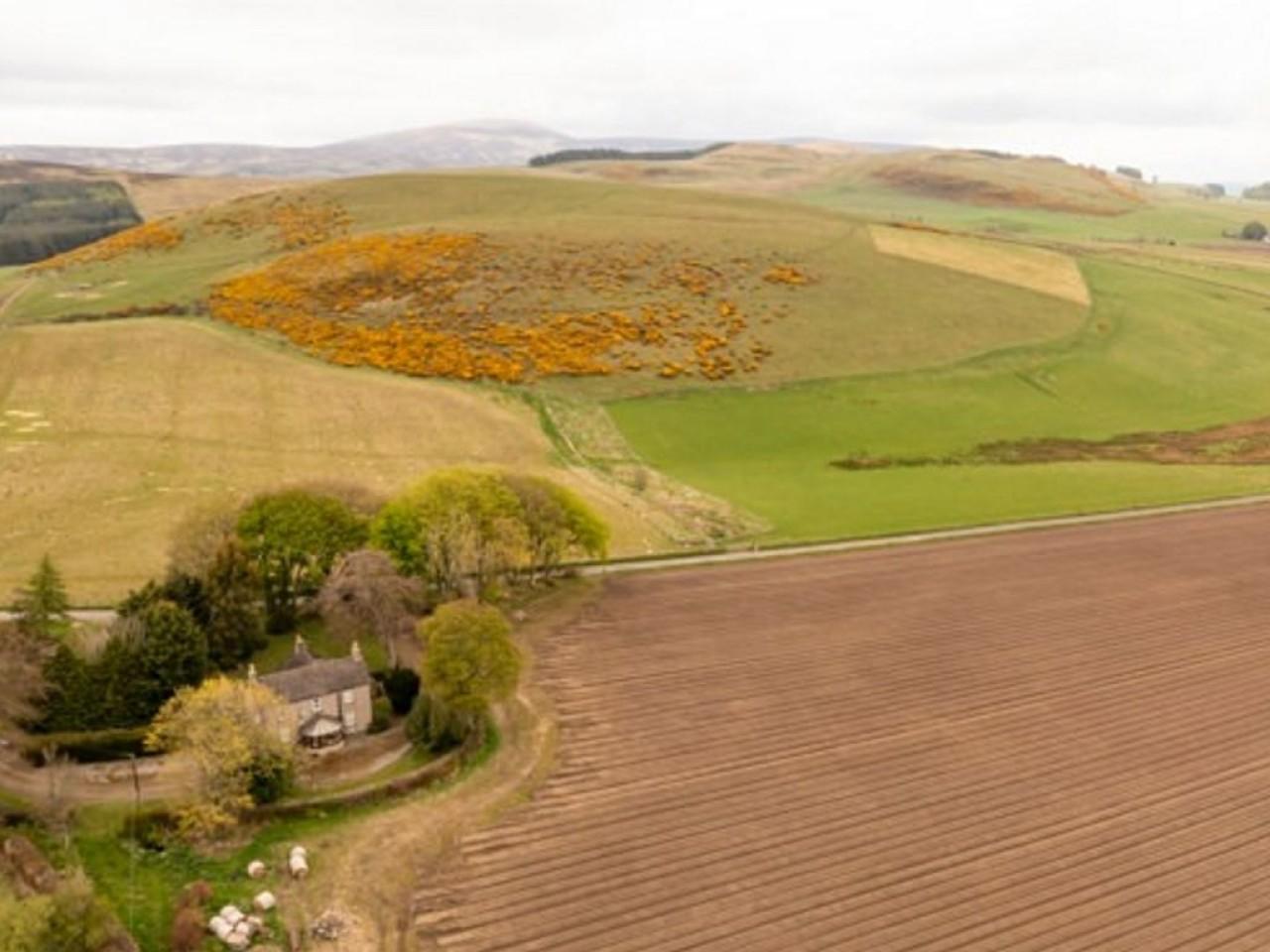 Purgavie Farm Landscape