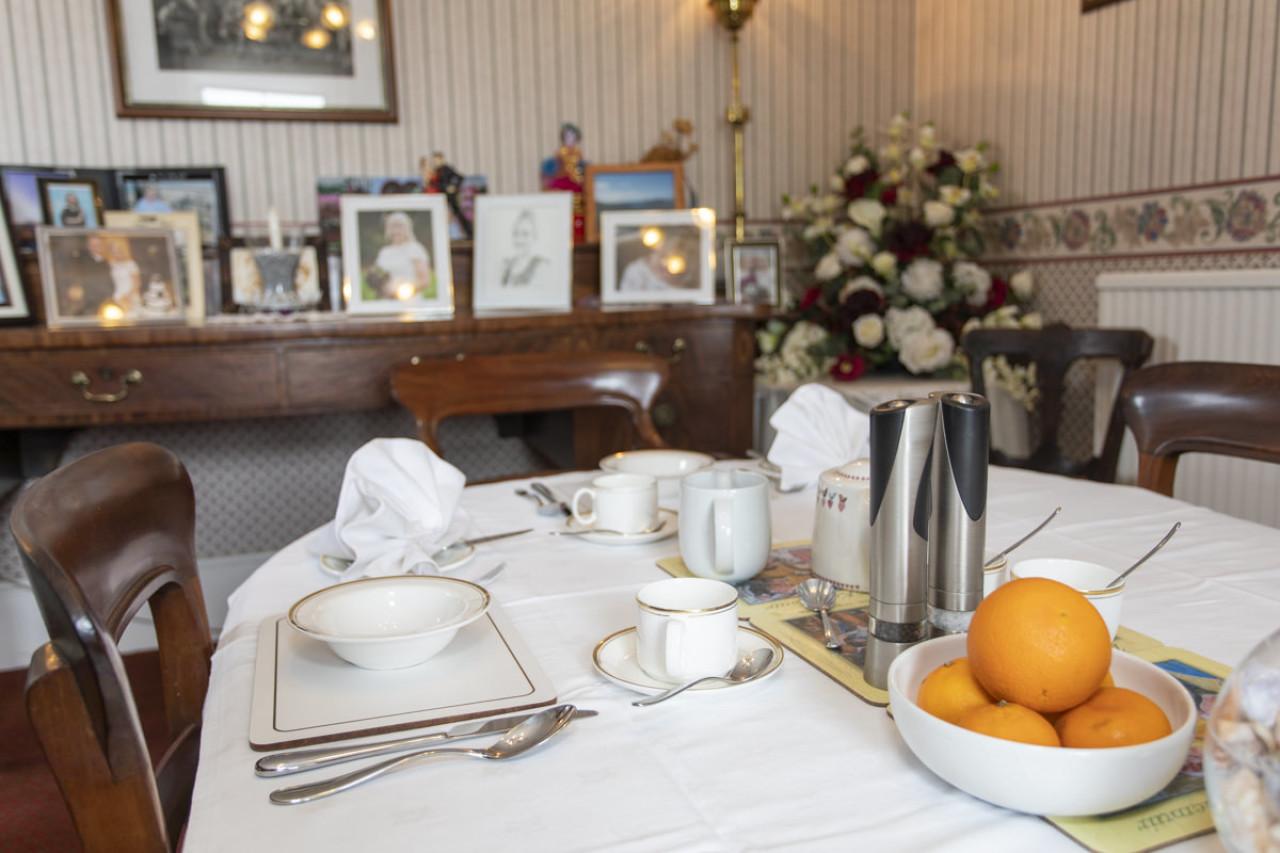 Purgavie Farm Dining Room