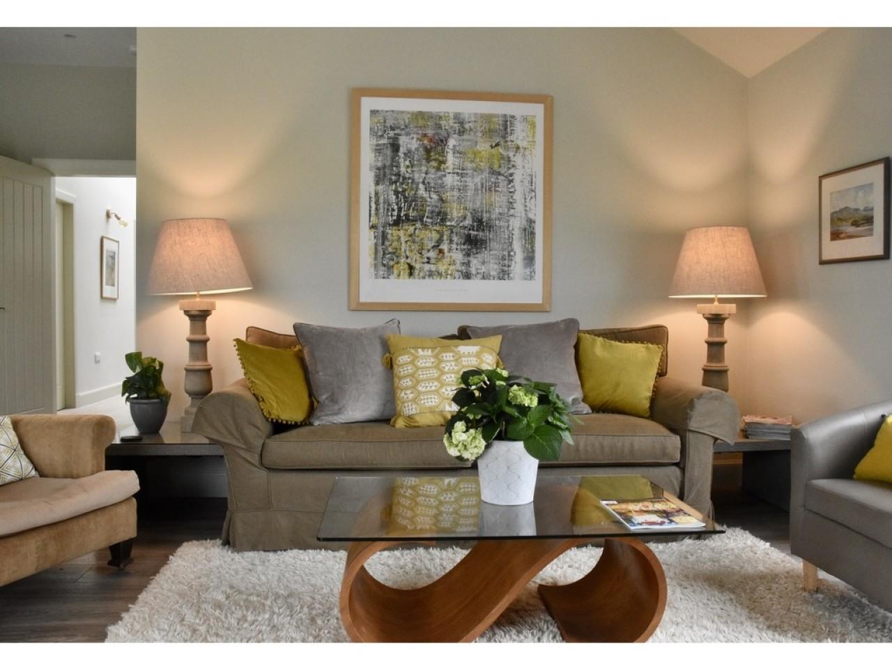 Living Room Lights on