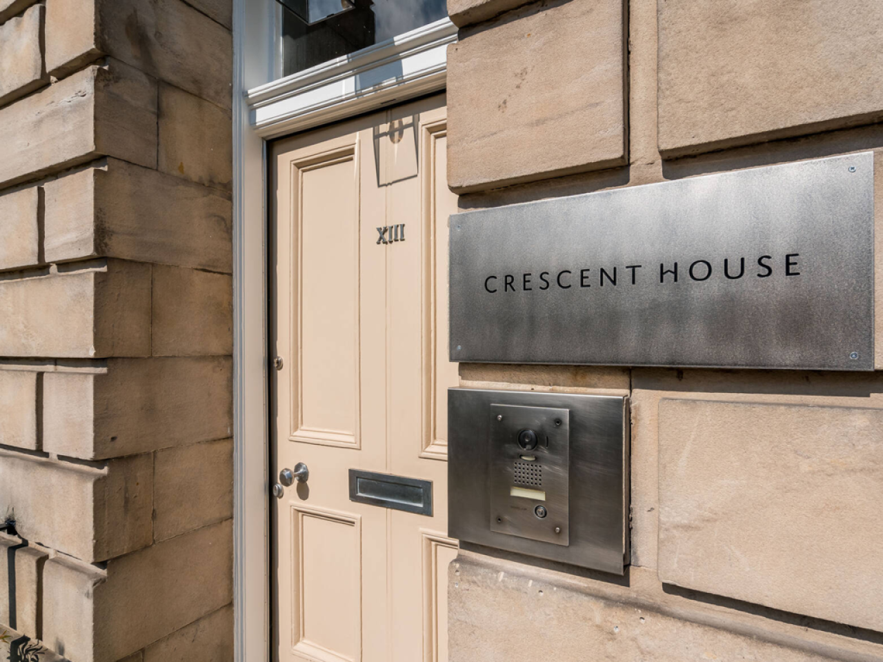Welcome to Crescent House in Edinburgh's New Town, Scotland