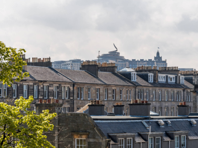 Calton Suite View of St James Quarter